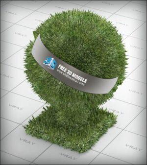 Vray Free Grass Materials