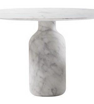 White Marble Dinning Table 3D Model