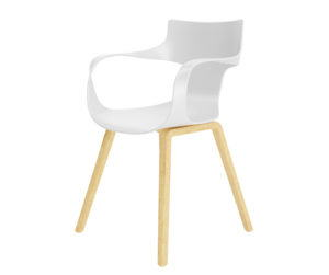 White Visitor Chair 3D Model