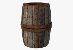Wine Barrel Free 3D Model