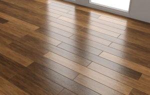 Wood Floor Material 3D Texture
