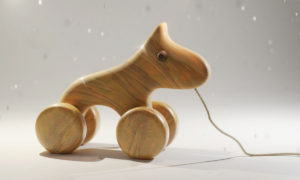 Wooden Horse Toy 3D Model