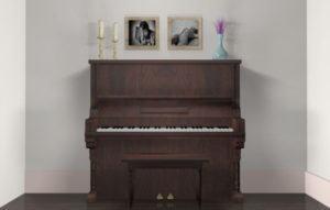 Wooden Piano Free 3D Model