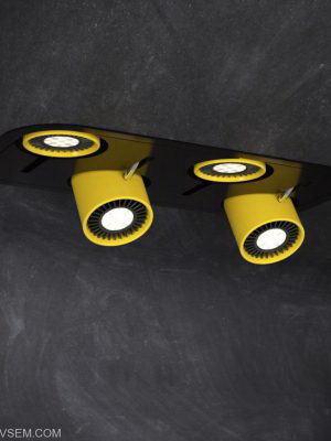 Yellow Ceiling Lamp 3D Model
