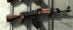 AK-47 Kalashnikov Cinema 4D model