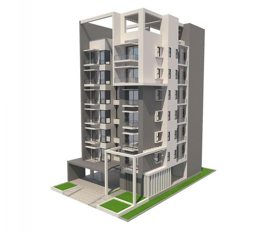 Apartment Exterior: Apartment Building Exterior Design