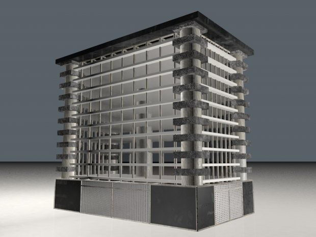 Building 3d Model C4d Download