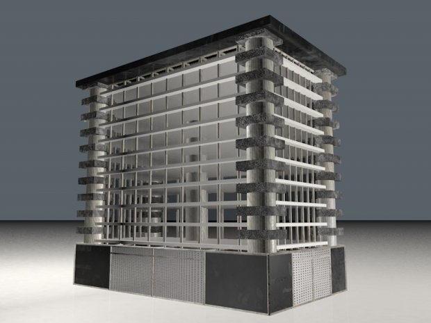 Building 3d Model Free C4d Models
