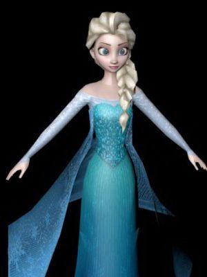 Elsa Rig 3d model