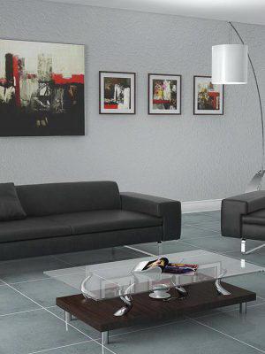 Office interior scene Vray format