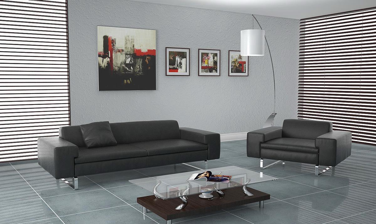 Office interior scene Vray format - Free C4D Models
