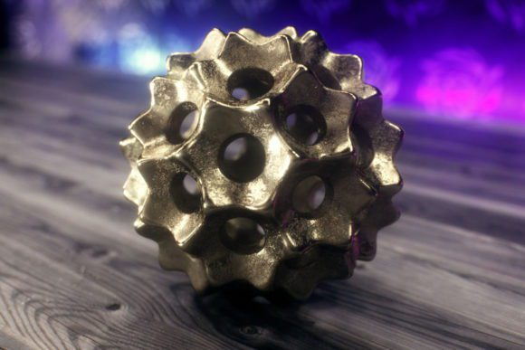 Decorative Metal Object 3D Model