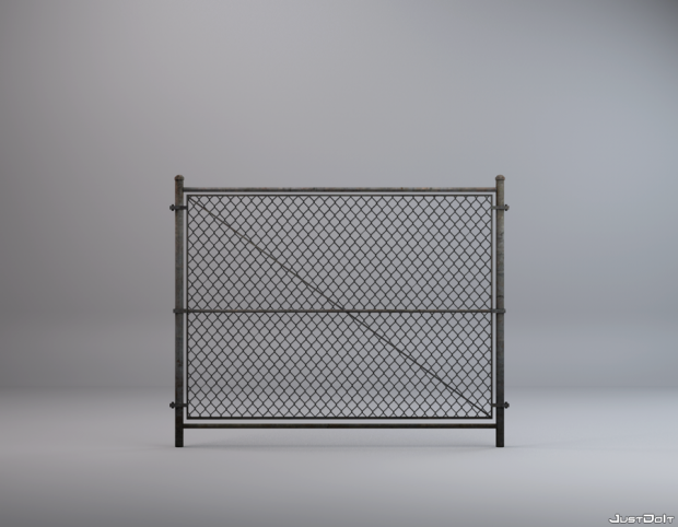 Fence 3d model c4d download for 3d fence