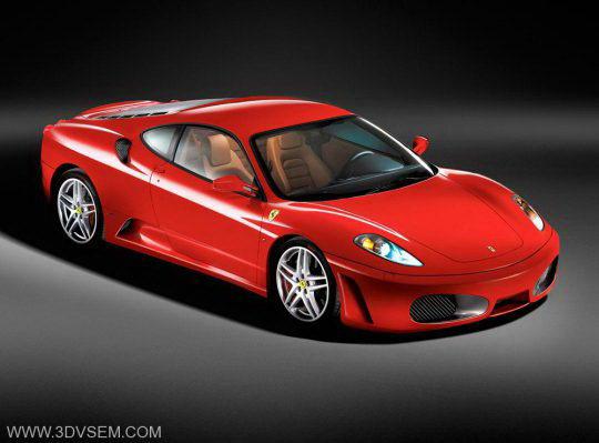 Ferrari F430 3d Model Free C4d Models