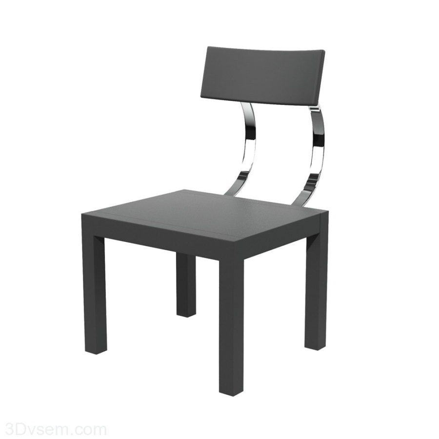 Hi-Tech Chair 3D Model