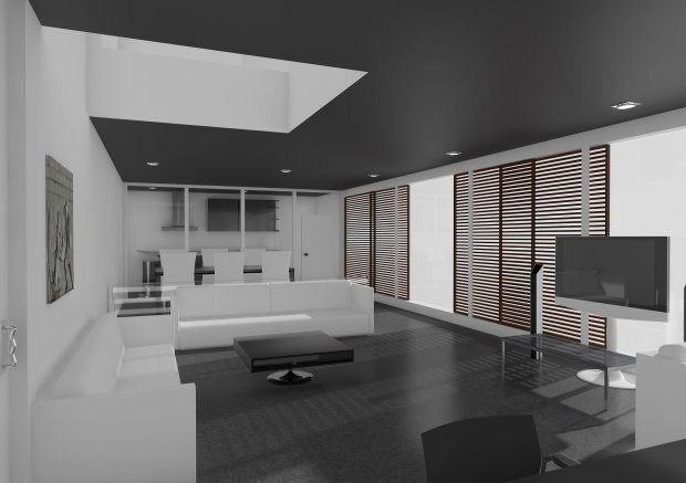 Living room 3d model c4d download for Living room cinema 4d