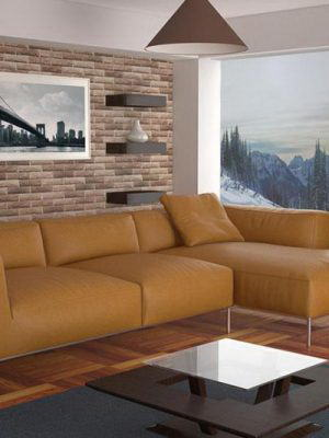 Living Room Interior Scene for Cinema 4D