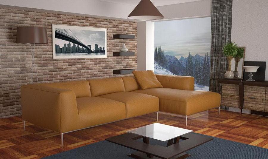 Living Room Interior Scene for Cinema 4D