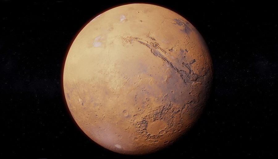 Mars Photorealistic 3D Model